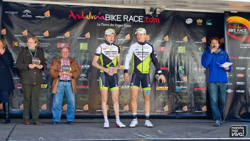 Ganadores de la cuarta etapa - Andalucia Bike Race
