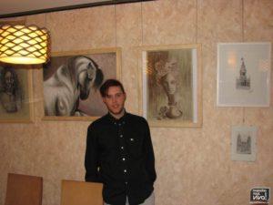 El autor de las obras Paco Olmo Rodriguez