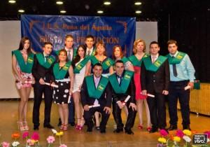 Graduación de los modulos del IES Peña del Águila