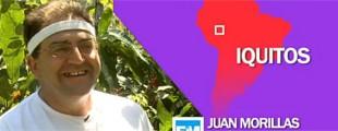 """""""Mancharrealeños por el mundo"""" Juan Morillas en Iquitos"""