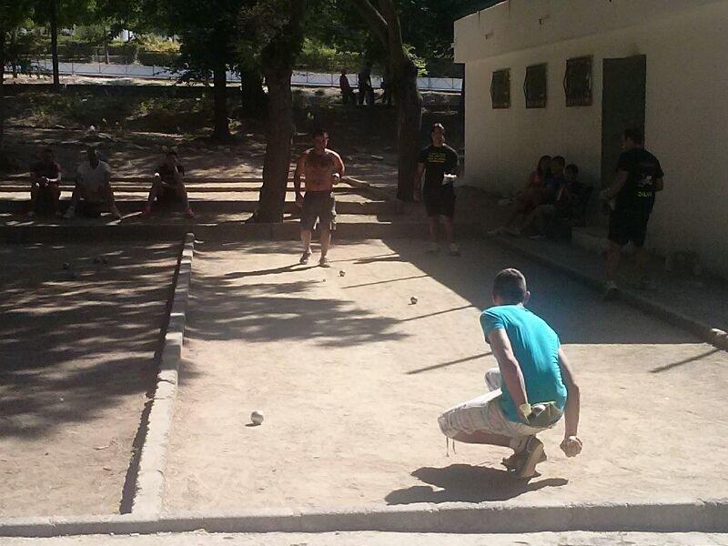 X Campeonato Petanca