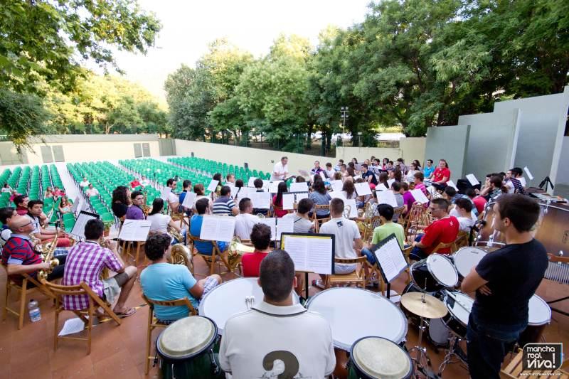 Ensayo AM Amigos de la Música en el Auditorio Municipal