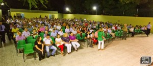 El acto contó con la presencia de un numeroso público