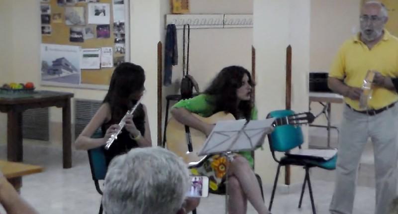Actuación Al Coray fin de curso 2013