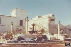 Esquina y torre convento en los 60
