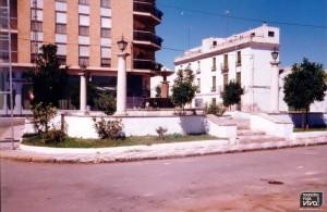Esquina y plazoleta del convento en los 80