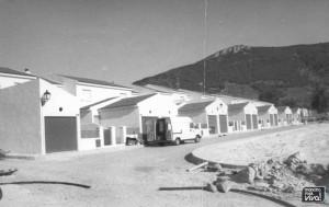 Barrio junto al Parque del Emigrante en la actualidad 1988