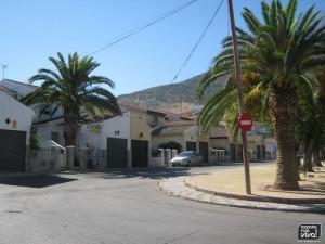 Barrio junto al Parque del Emigrante en la actualidad