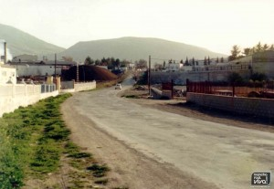 Entrada por la ermita en los 70