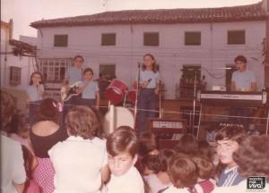 Jacoras en la feria de agosto de 1980