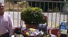Photo of La Cofradía de la Virgen de la Cabeza hace entrega de una cesta