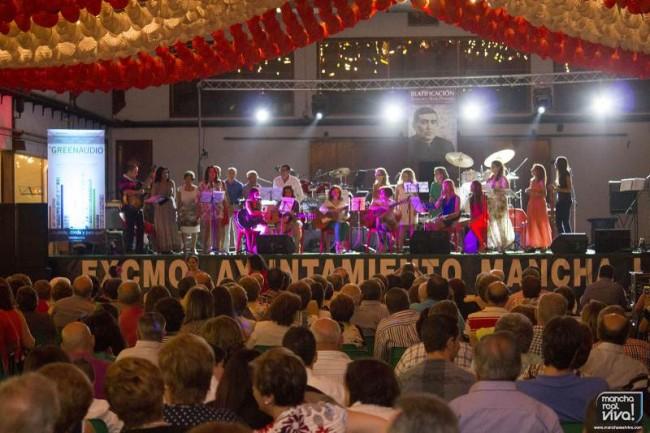 El Coro Parroquial de  S. Juan Evangelista en el Festival de Francisco Solís