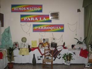Exposición de manualidades y artesanías