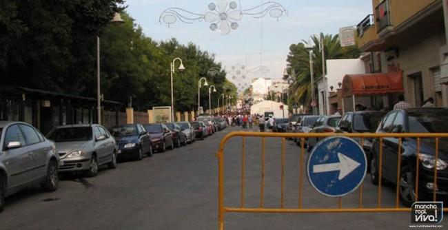 Modificación del tráfico en la Feria de Octubre