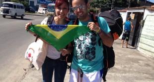 Mancharrealeños por el mundo: Juan Lázaro en las JMJ de Brasil