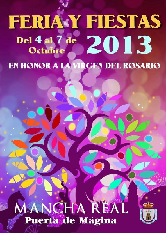 Cartel de la Feria de Octubre 2013