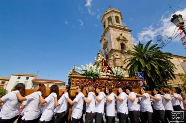 Procesión de la Virgen del Rosario 2013