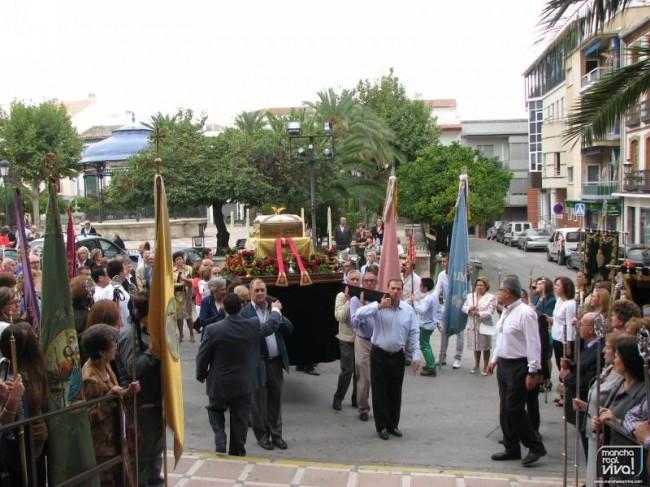 Las Reliquias del Beato Francisco Solís entran en la Iglesia de San Juan Evangelista