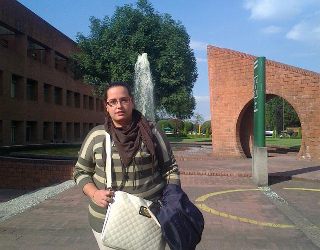Mari Carmen Melgarejo en Mexico D.F.