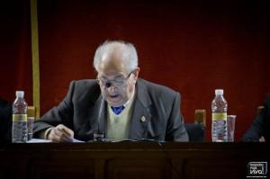 J. Tomas Ruiz Chica en la presentación de su libro