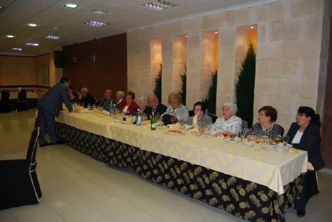 La cena tuvo lugar en el salon La Zambra