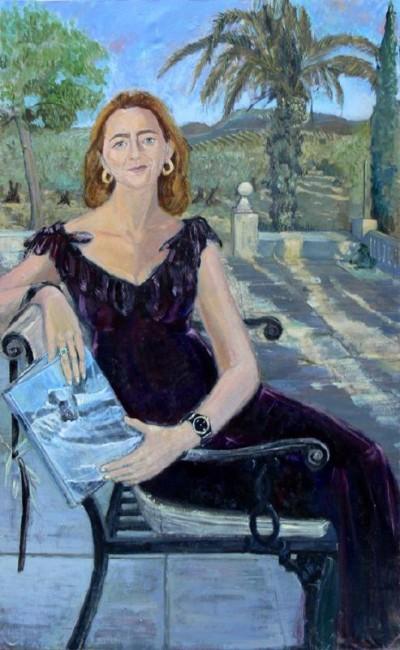 Retrato del pintor