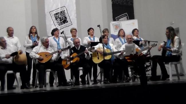 La asociación Al Coray en el IV Encuentro de Coros y Rondallas de Sierra Mágina