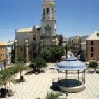 Vista de la Plaza Constitución 1994
