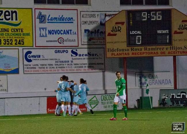 Los verdes encajaron dos goles en solo diez minutos