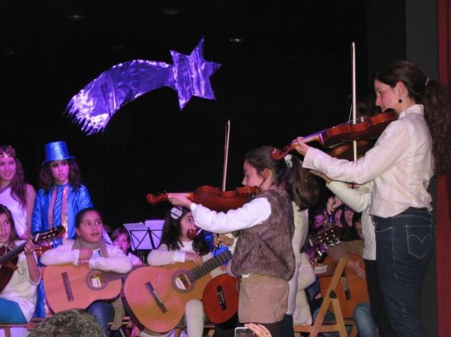 Audición de Navidad 2013 de la Escuela Manuel Rosa