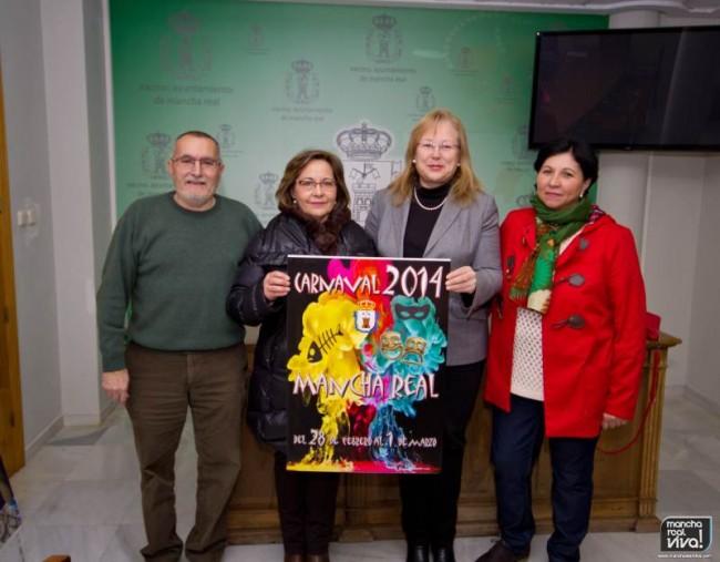 Cartel ganador del carnaval 2014