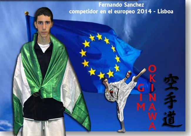 Fernando Sanchez ira al Campeonato Europeo