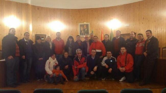 Participantes de la III ruta de la tapa