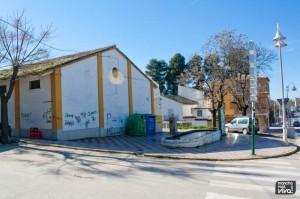 La Estación se ha construido en el emplazamiento del antiguo almacen del trigo