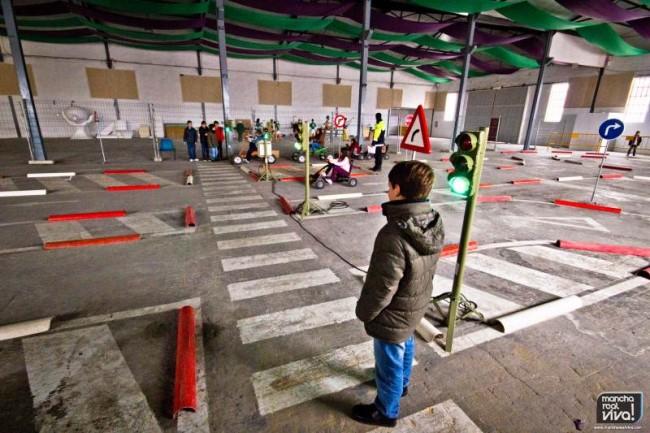"""Circuito práctico e las """"XI Jornadas de Educación Vial"""""""