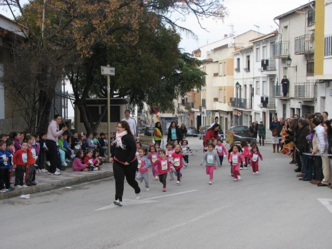 El CEIP San José de Calasanz realizó su tradicional carrera por los alededores del centro