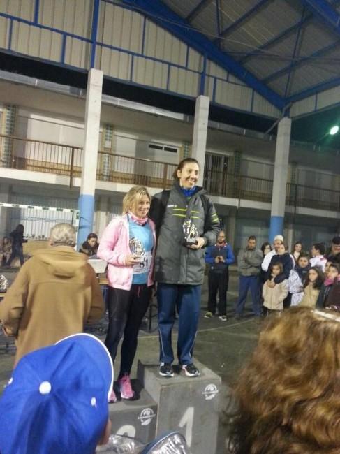 Mari Carmen Rosa obtuvo  el segundo puesto en Cambil