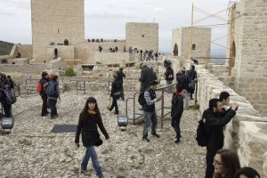 El Castillo de Santa Catalina volverá a abrir al público en breve. :: F. J. C.