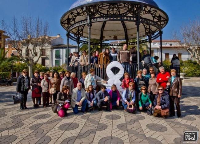 Foto de las agrupaciones participantes en el acto