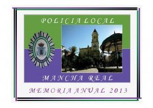 Memoria Policia Local 2013