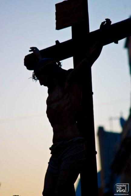 """Cristo de la Piedad en la """"Madrugá"""" 2014"""