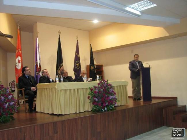 Pedro Javier Quesada en el Pregon de la Semana Santa 2014