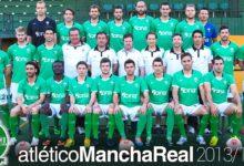 Photo of El Atlético Mancha Real se hace la foto de grupo de la temporada 13/14