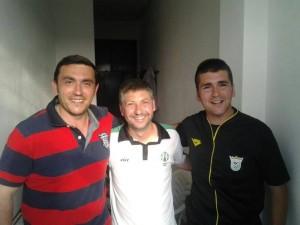 En su último partido junto a su amigo Juan Olmedo