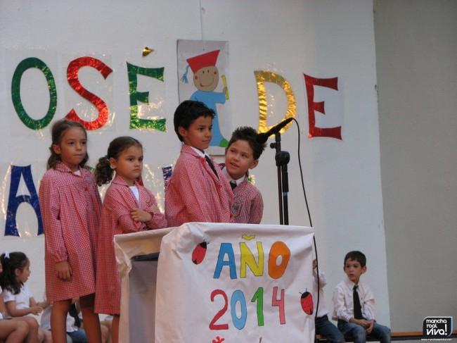 Fiesta de fin de curso San José de Calasanz 2014