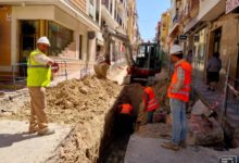 Photo of Se inician las obras del nuevo tramo peatonal de la calle Maestra | Calles cortadas