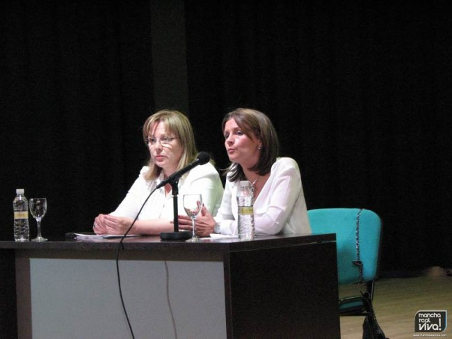 Micaela Martínez y Ana Cobo