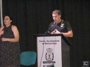 Ildefonso Ruiz durante su intervención