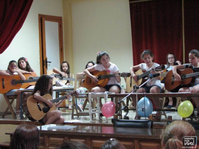 Audición final de los alumnos de guitarra