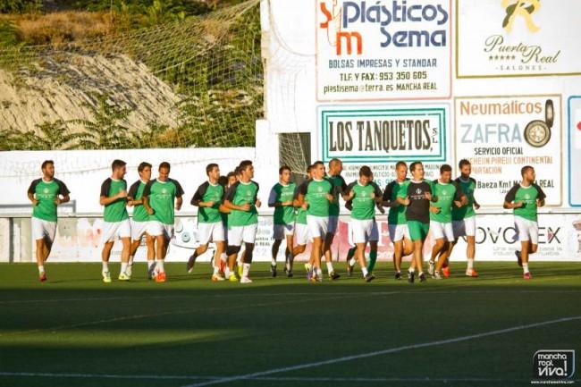 At Mancha Real inicio  de temporada 2014/2015